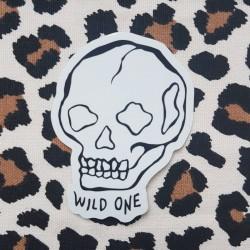 """Sticker """"Wild One"""""""