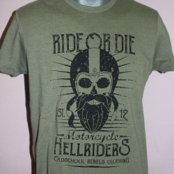 "unisex Shirt ""Ride or Die"""