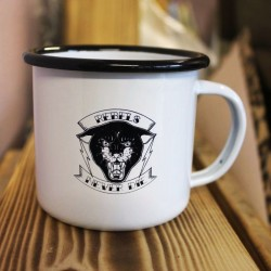 "Emaille-Tasse ""Rebels"""