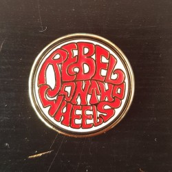 "Pin ""Rebel on 2 Wheels"""